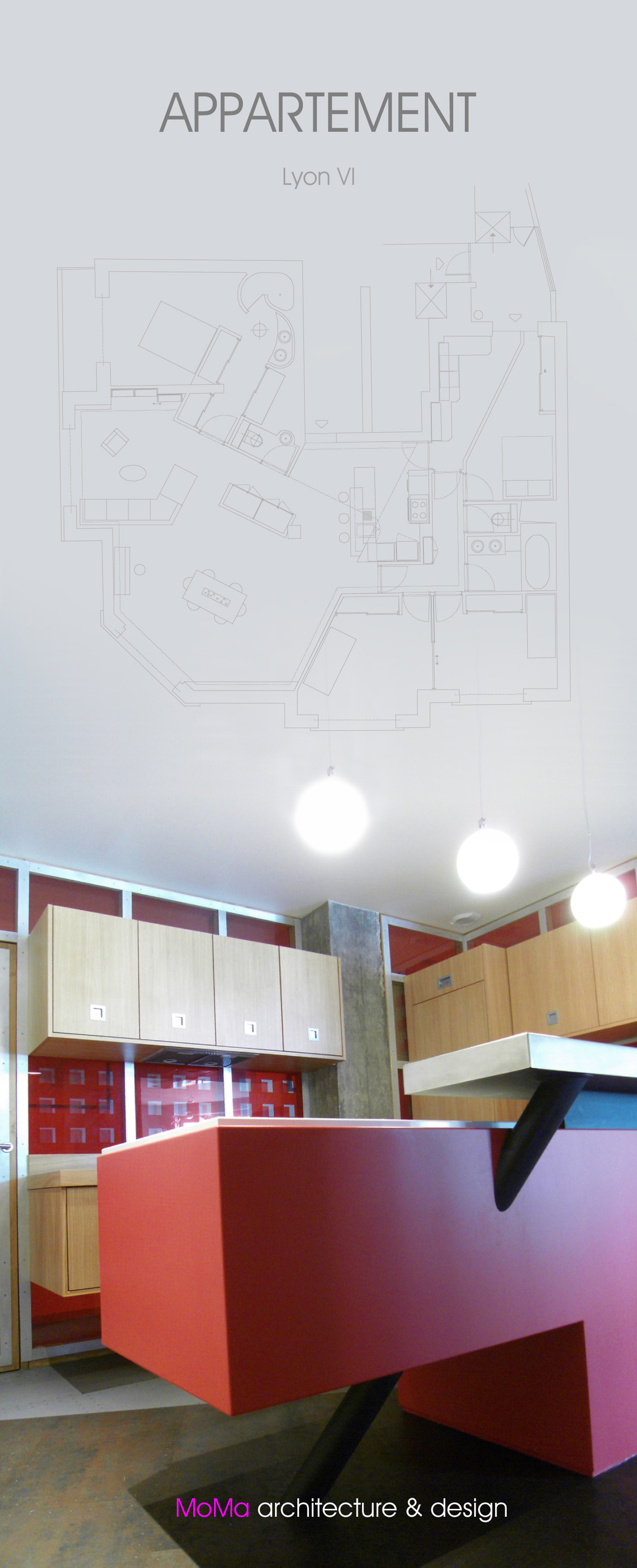 appartement transformation lyon iv moma lyon cabinet d. Black Bedroom Furniture Sets. Home Design Ideas