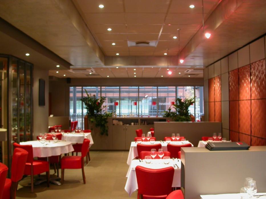 LE CARRE ROUGE  Restaurant  Cité Internationnale Lyon VI