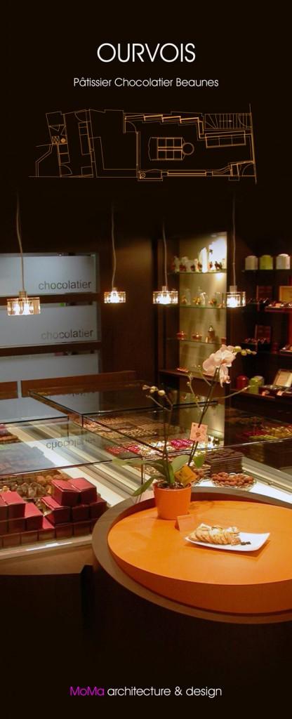 OURVOIS pâtissier chocolatier Beaunes