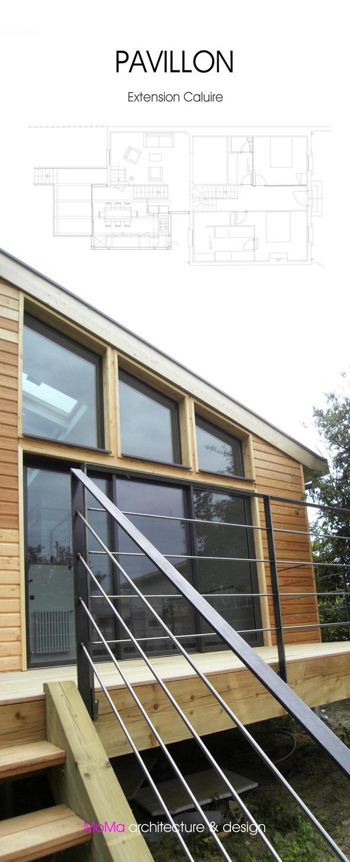 pavillon extension caluire et cuire moma lyon cabinet d 39 architectes lyon architecture. Black Bedroom Furniture Sets. Home Design Ideas